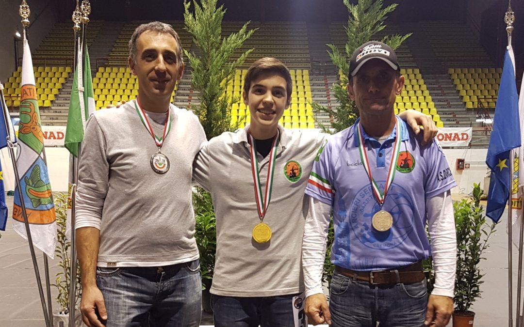 LA SERIART A PODIO AI C.I.INDOOR FRANZINI CAMPIONE ITALIANO FIARC , ARGENTO PER PERINI E ZANGRANDI