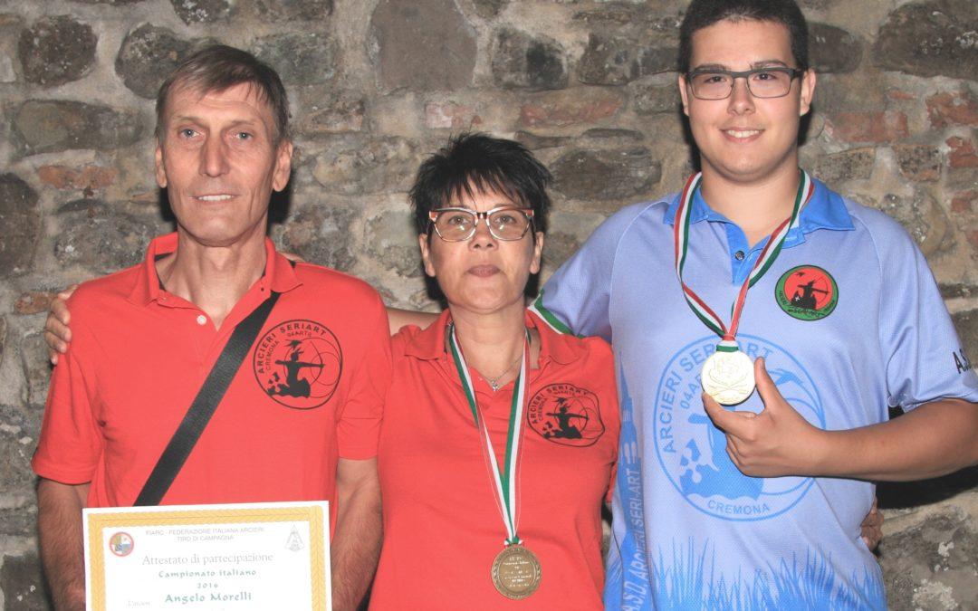 BIANCHI CAMPIONE ITALIANO FIARC, BRONZO PER ROTA E MORELLI