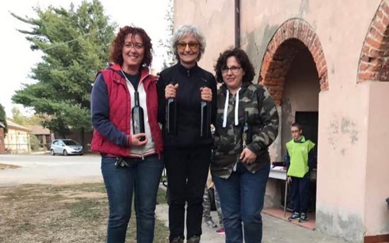 ALIDA, ROBY, SABRINA, LUCA E LUCIANO AL PERCORSO DI BELGIOIOSO 04HOOD FIARC