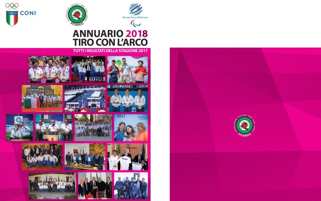 ANNUARIO 2018 FITARCO – LA SERIART C'E'