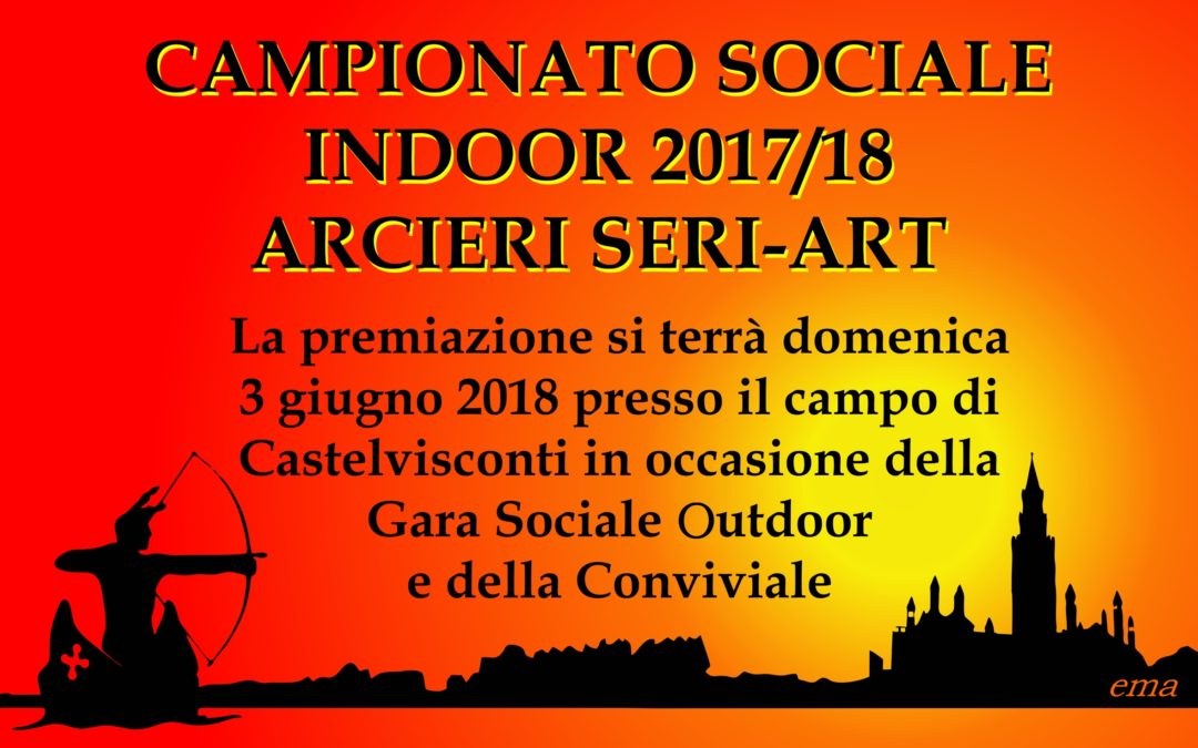 CLASSIFICA FINALE CAMP. SOCIALE INDOOR SERI-ART
