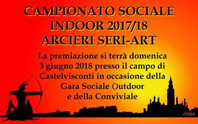 CLASSIFICA FINALE CAMP. SOCIALE INDOOR SERI-ART