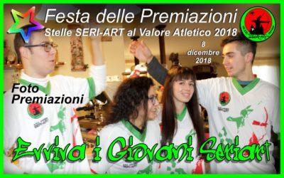 FOTO delle STELLE SERI-ART AL VALORE ATLETICO 2018