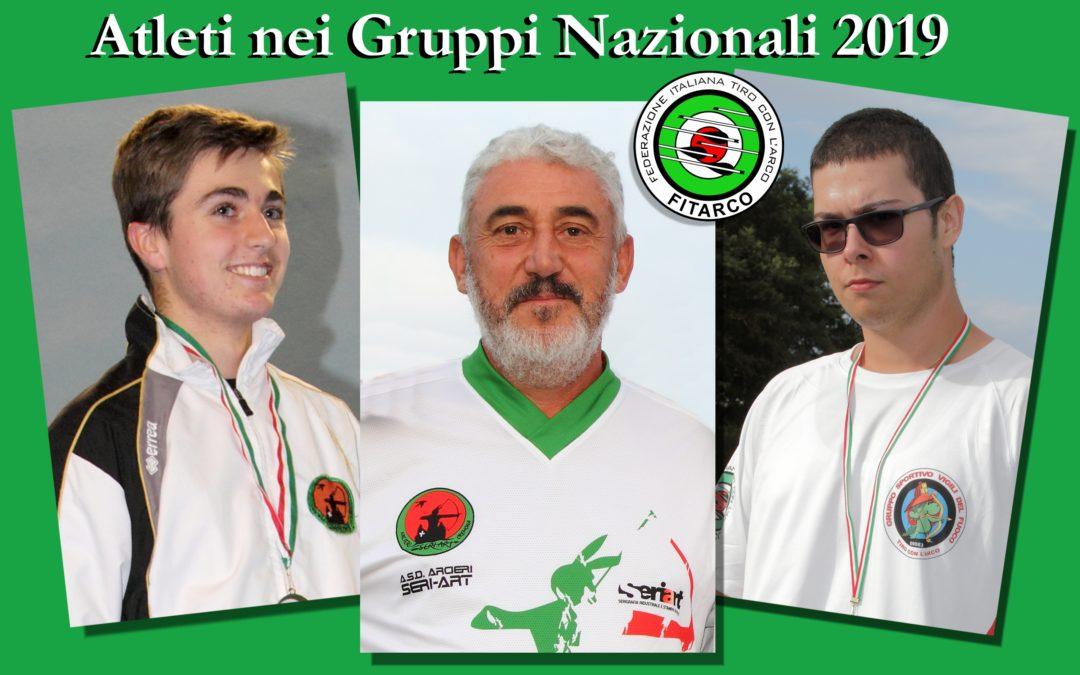 GRUPPI NAZIONALI 2019 – NEW ENTRY PER PAOLO, RICONFERMA PER DAVID