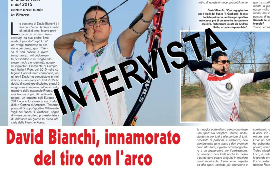 """INTERVISTA A DAVID BIANCHI """"INNAMORATO DEL TIRO CON L'ARCO"""""""