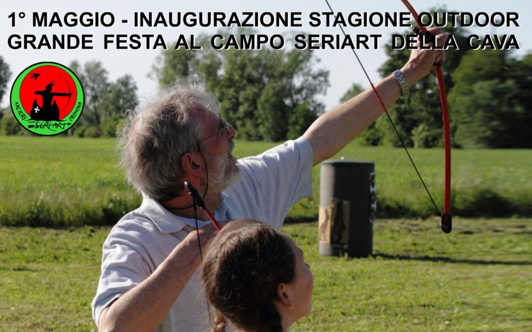 1° MAGGIO INAUGURAZIONE STAGIONE OUTDOOR AL CAMPO SERIART