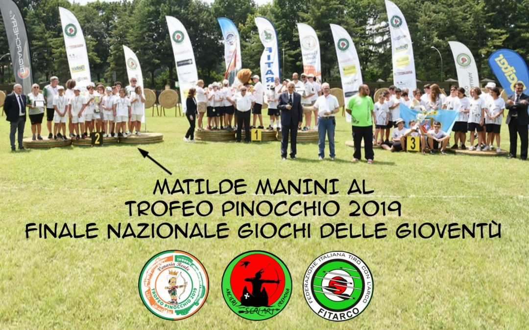 "MATILDE MANINI A TORINO PER IL TROFEO ""PINOCCHIO"" – QUESTO E' SOLO L'INIZIO, COMPLIMENTI."
